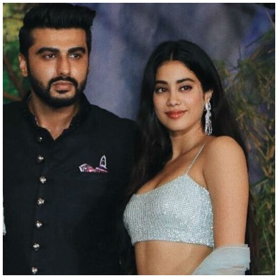 Janhvi Kapoor and Arjun Kapoor