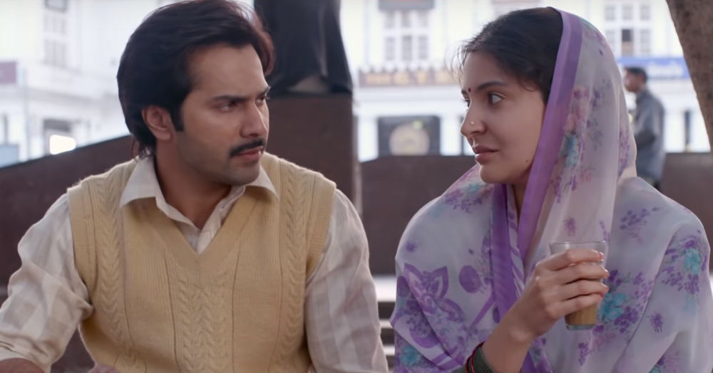 FB thoughts I had while watching sui dhaaga - varun dhawan and anushka sharma review