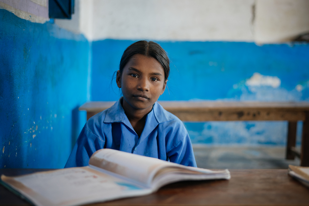 indian girl studying - importance of education for women