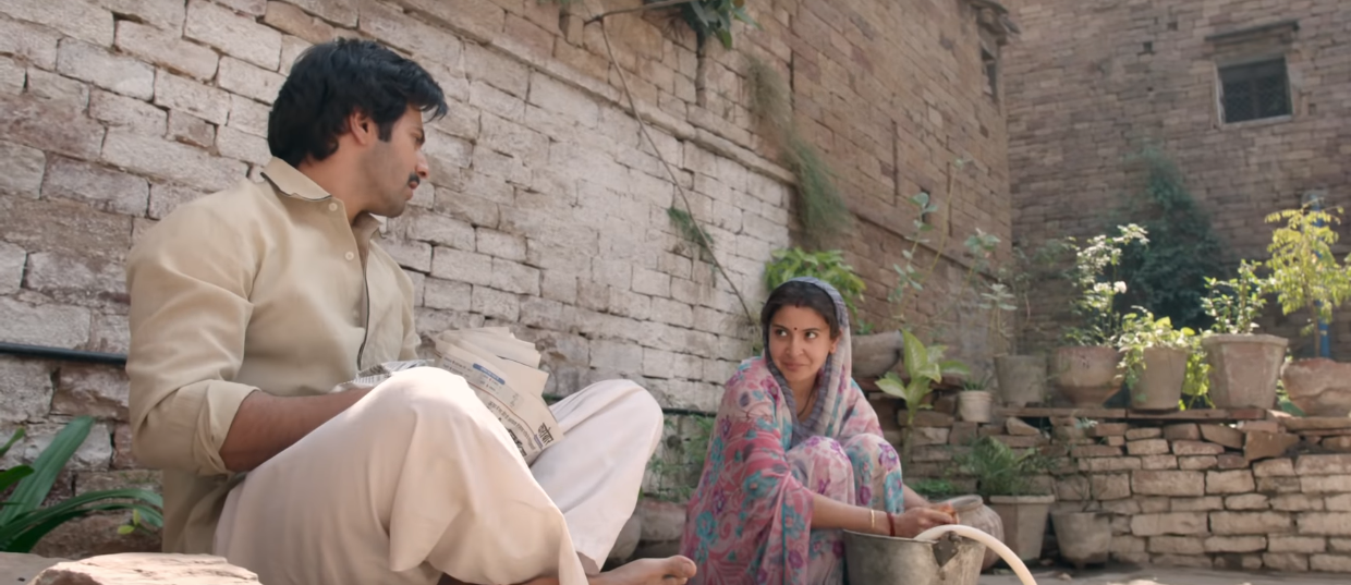 thoughts I had while watching sui dhaaga - anushka sharma and varun dhawan talking