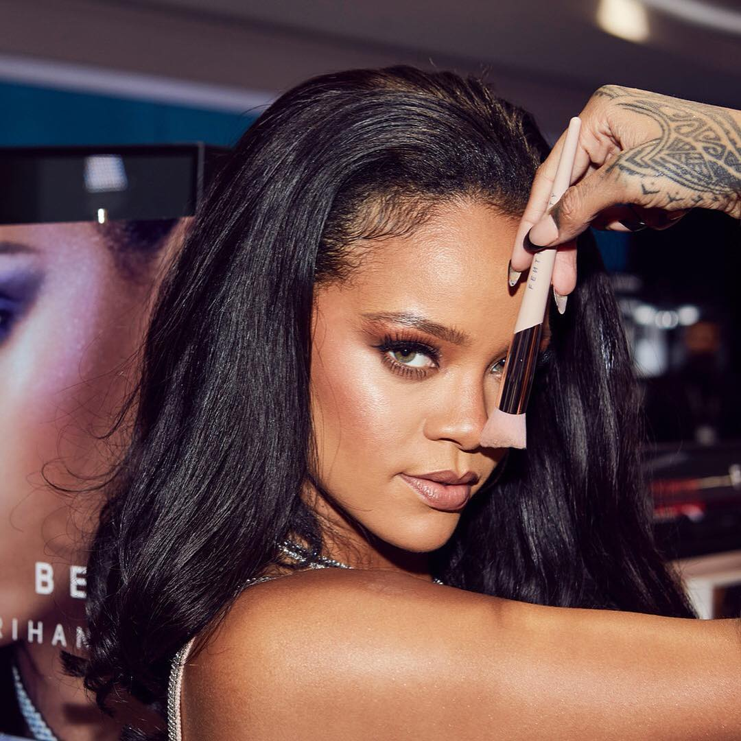 11. female celebrities with their own businesses - fenty beauty by rihanna