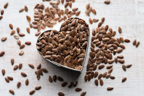 have lots of flaxseeds to reduce breast size naturally