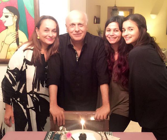 02 Alia Bhatt's Sister Shaheen Announces Book About Her Personal Battle With Depression-shaheen bhatt mahesh bhatt