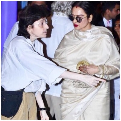 Rekha and her secretary