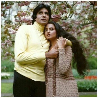 Rekha and Amitabh Bachchan 1