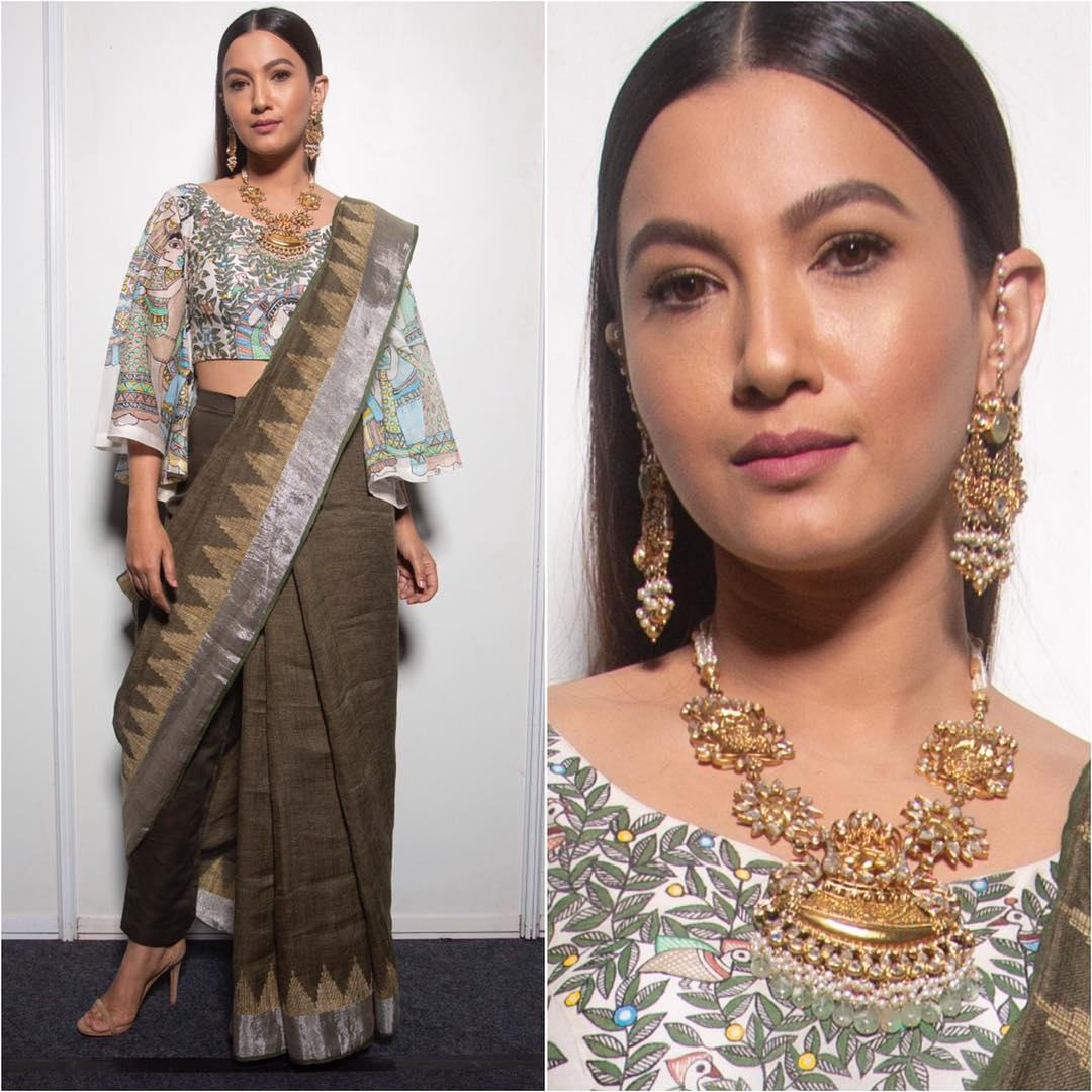 4-fashion-show-gauhar-khan-new-saree-drape-lmifw