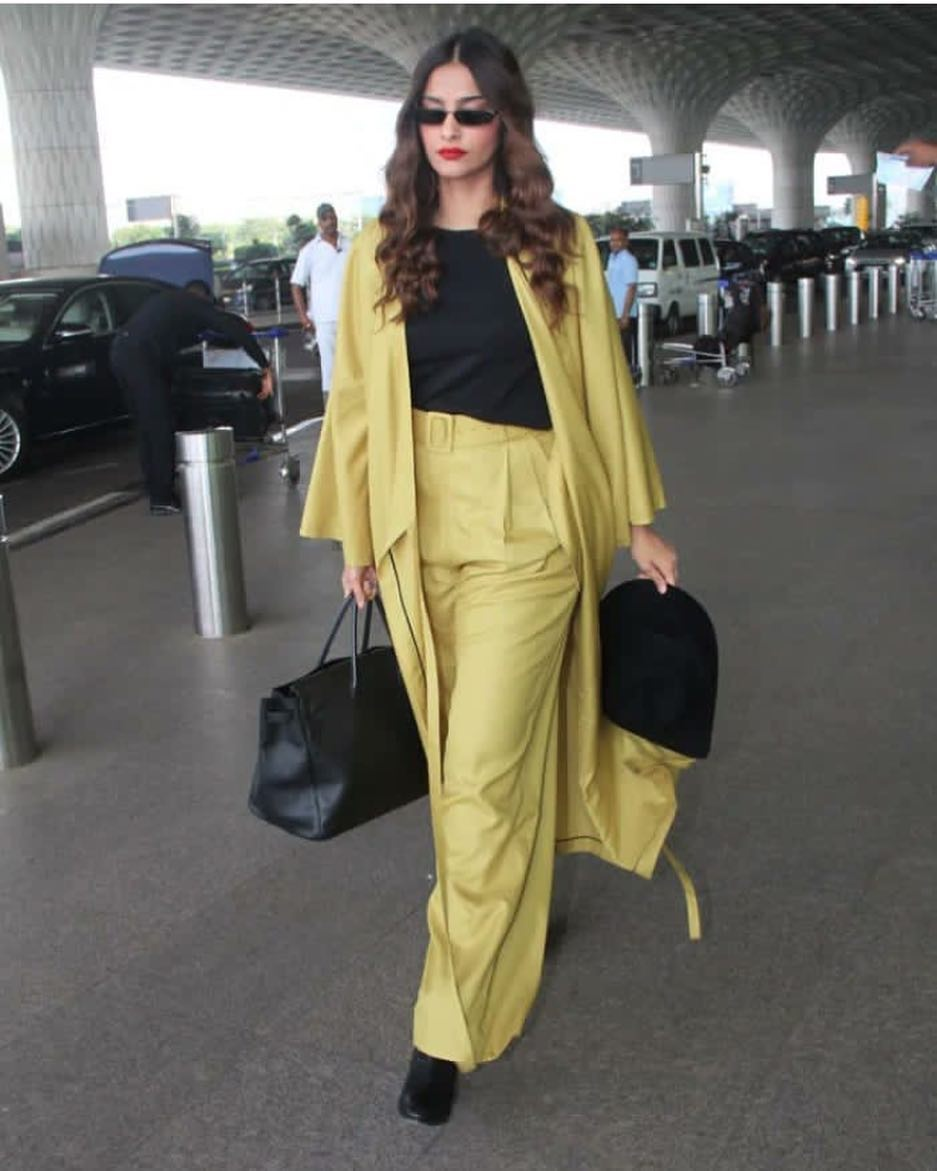 mustard-coord-sonam-kapoor-weekend-outfits
