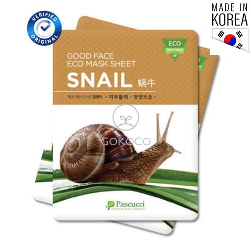 13 sheet masks snail mucus