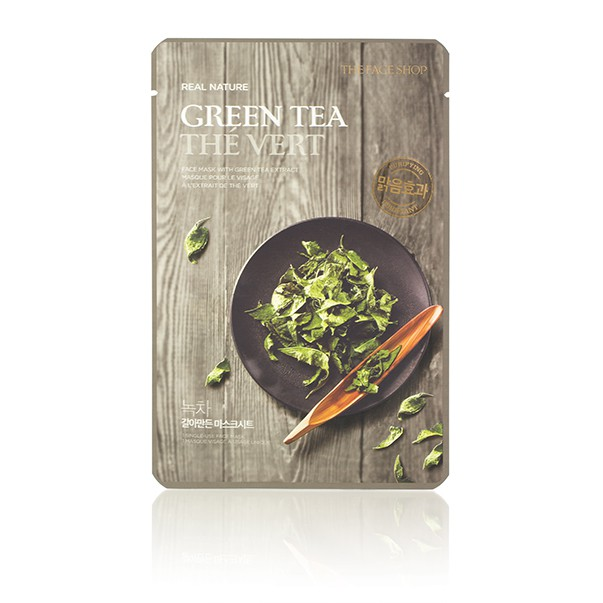 9 sheet mask green tea