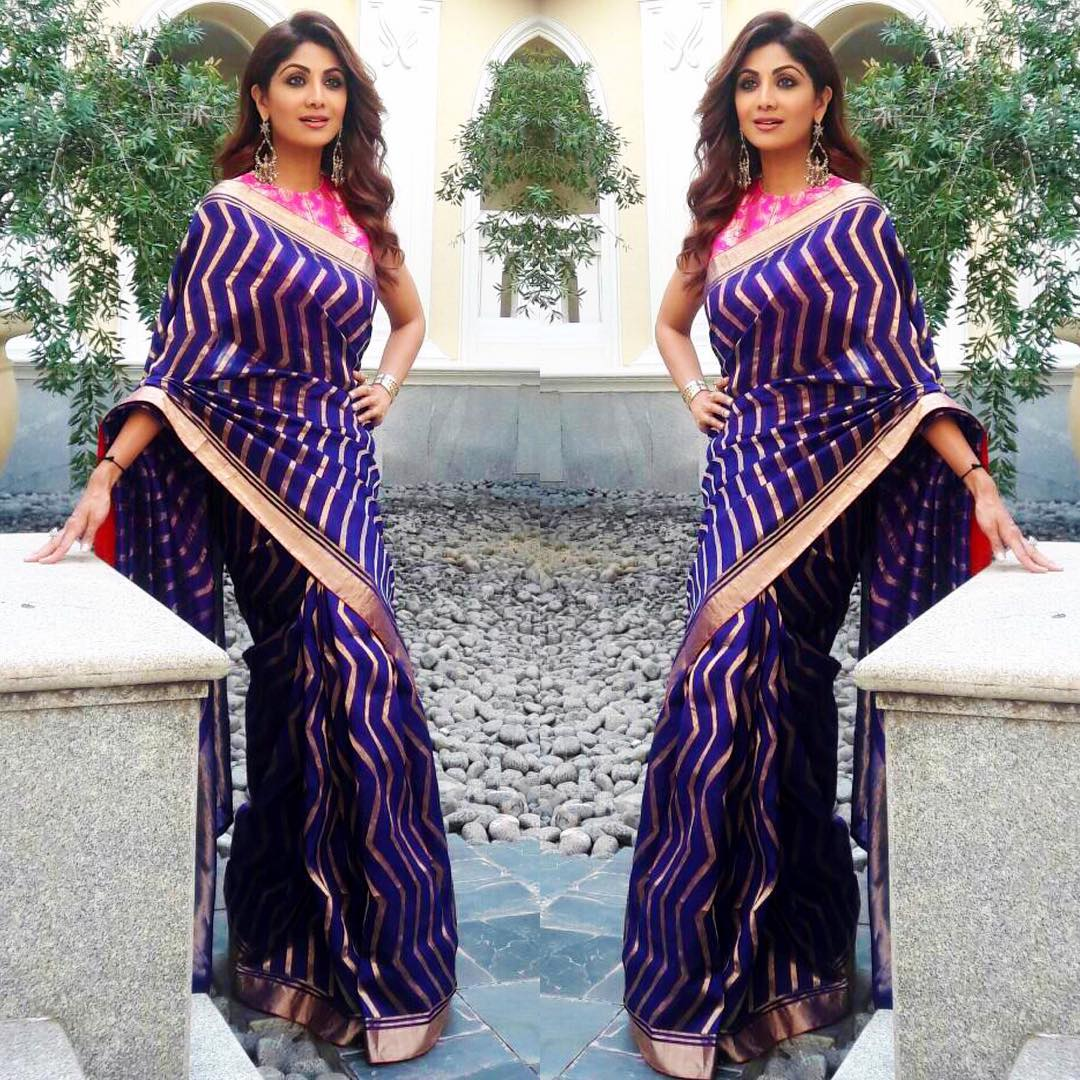 shilpa-shetty-aubergine-purple-colours-that-look-good-on-everyone