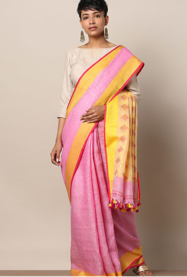 27-50-Saree-Designs-For-Diwali-handloomlinenpallubooti-ajio