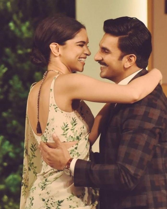 Adorable Pictures Of Deepika And Ranveer- HT event