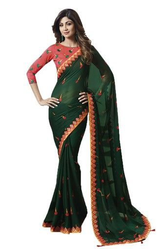 23-sarees-for-farewell-Womens-Printed-Saree