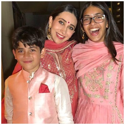 Diwali-looks-of-star-kids-child-actors-karishma-kapoor-daughter-son
