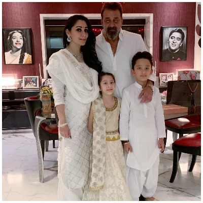diwali-looks-bollywood-star-kids-sanjay-dutt-maanyata-dutt