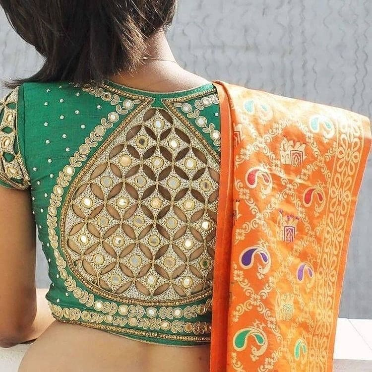 sexy jaali back design
