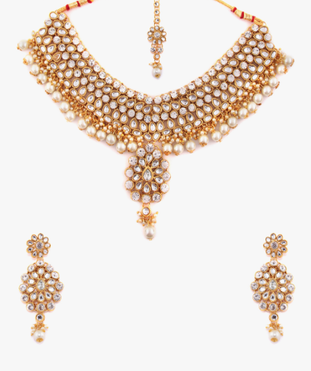 5-rubans-necklace-set-jewellery-to-wear-with-punjabi-suits