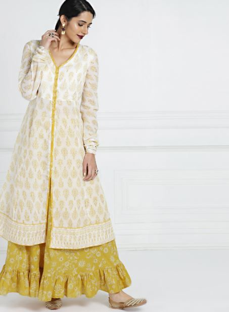 all-about-you-suit-with-lehenga-what-to-wear-for-first-lohri-after-wedding