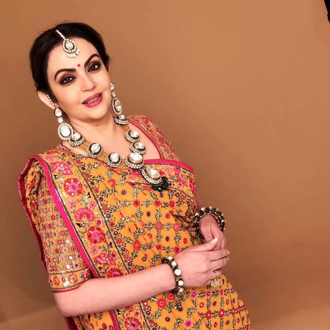 nita-ambani-at-Isha-wedding-celebration