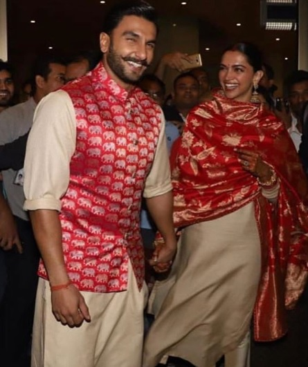 deepika-and-ranveer-at-mumbai-airport
