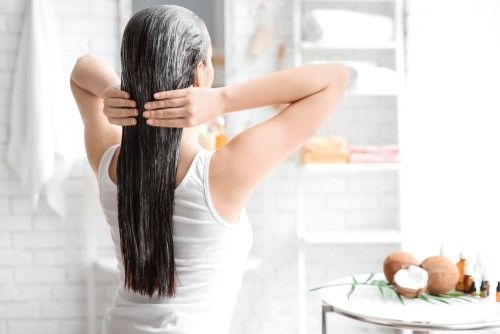 hair mask at home in hindi