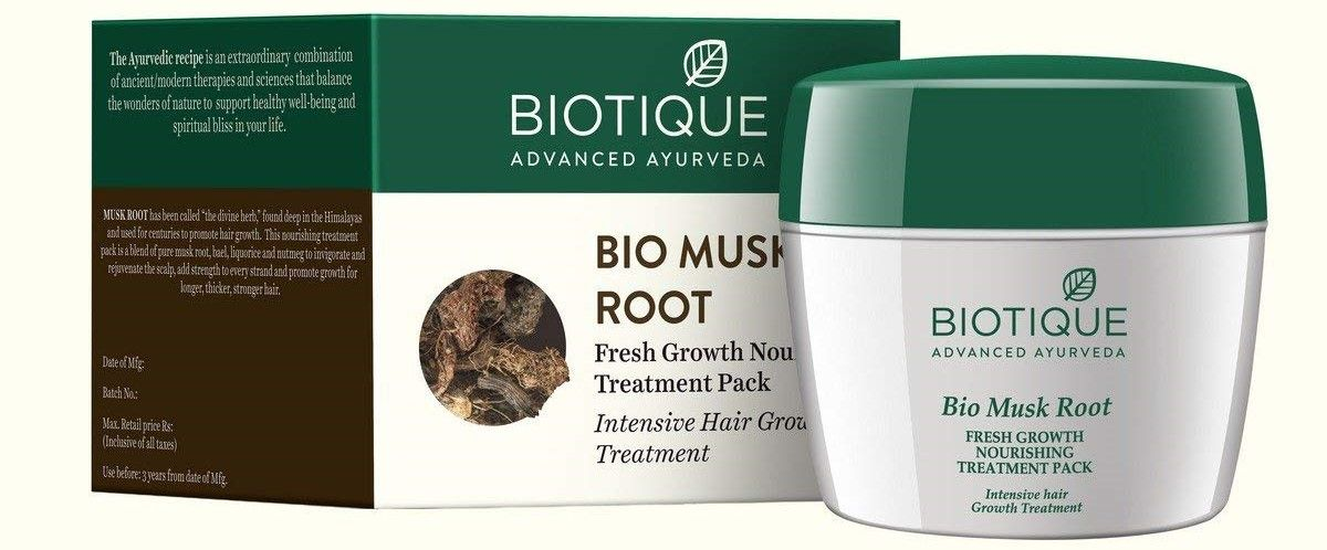 Biotique bio musk root hair mask