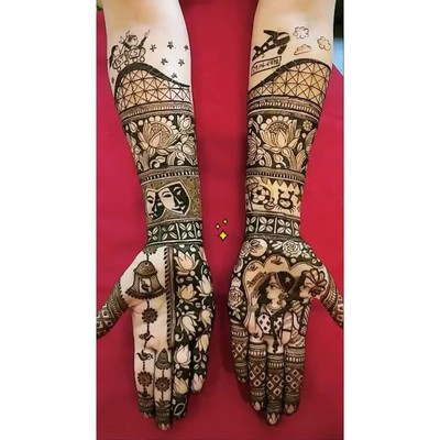 Beautiful_mehndi_designs_for_bride_in_marathi