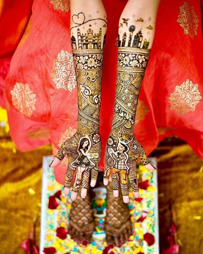 rajwadi_mehndi_design_for_bride_in_marathi