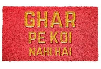 Birthday gifts for younger brother- Doormat