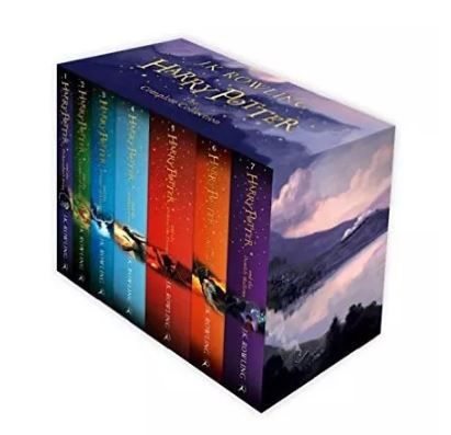 Birthday gifts for younger brother- Harry Potter Book series