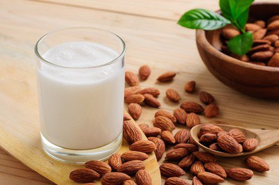 Anti Aging home remedies Almond Milk