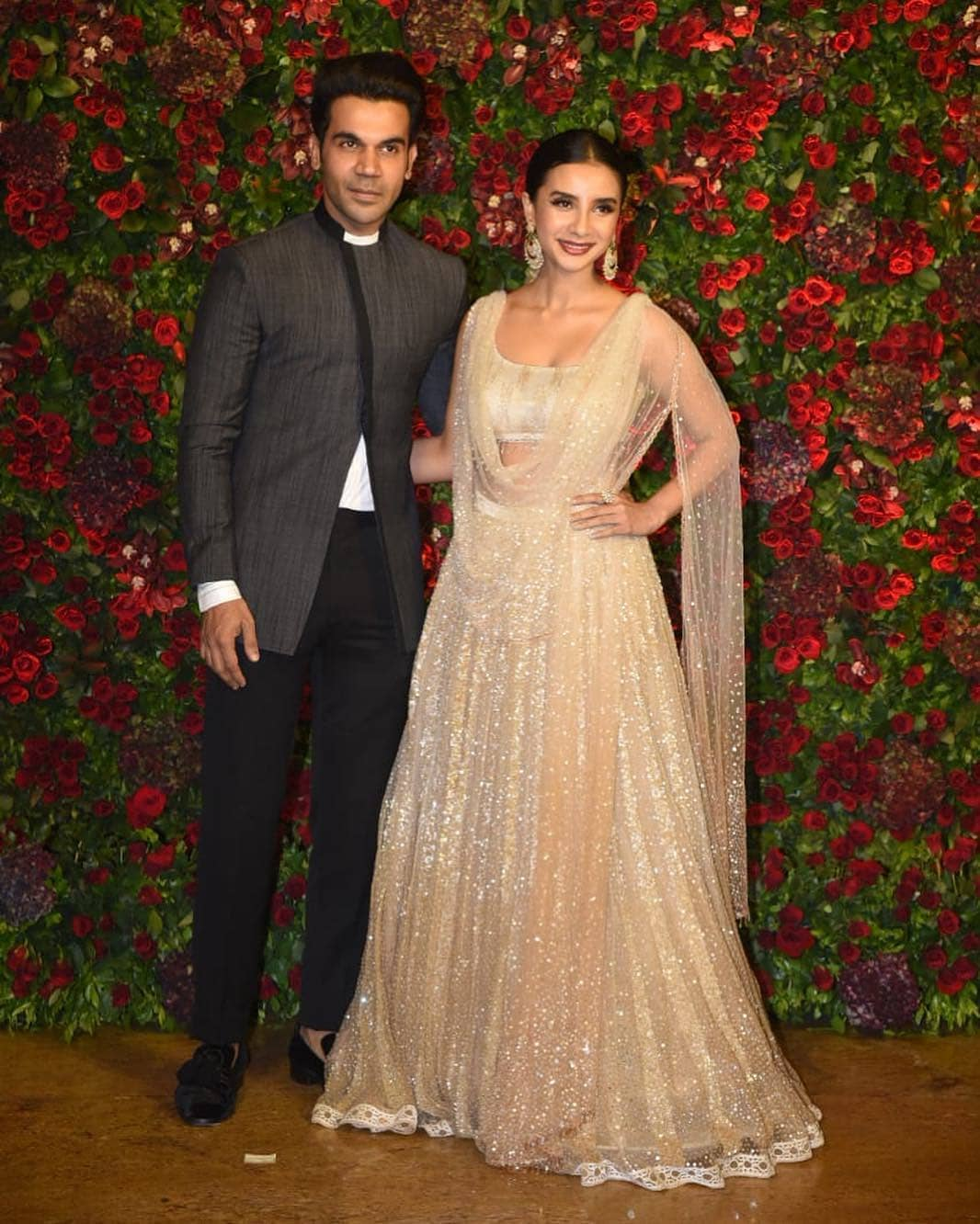 rajkummar-rao-and-patralekha-couple-deepveer-reception
