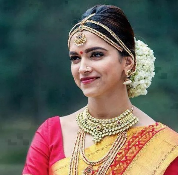 deepika padukone in bridal makeup in chennai express