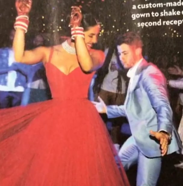 2-nickyanka-dancing-priyanka-red-dior-gown-reception