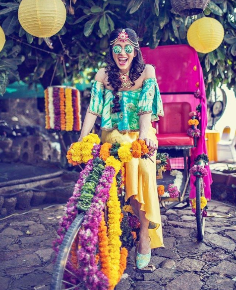 bridal entry idea on a rickshaw 1