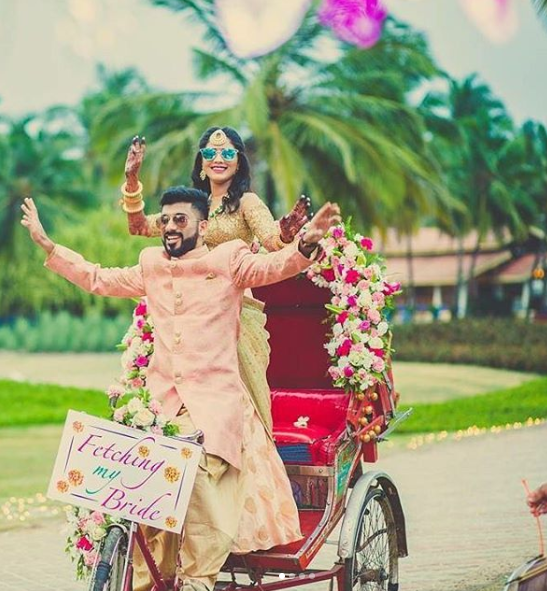 bridal entry idea rickshaw 3