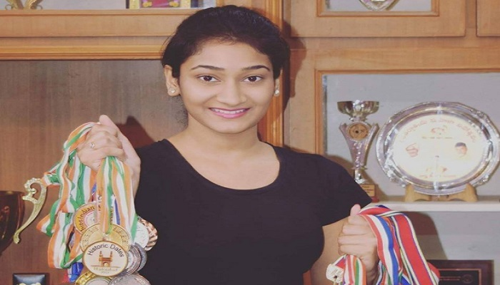 sri-vaishnavi-gained-popularity-with-her-medal-in-memory-sports