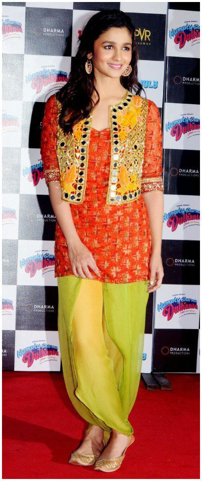 Traditional-punjabi-Jacket-Shalwar-Suit marathi