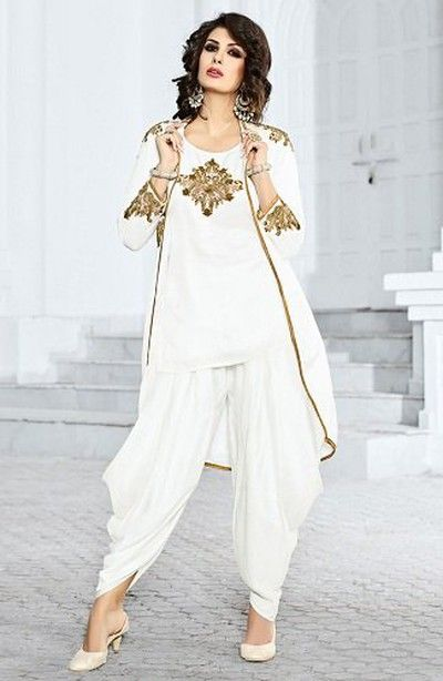 White-Kurtaand-Dhoti-Pajama-with-Long-Koti marathi