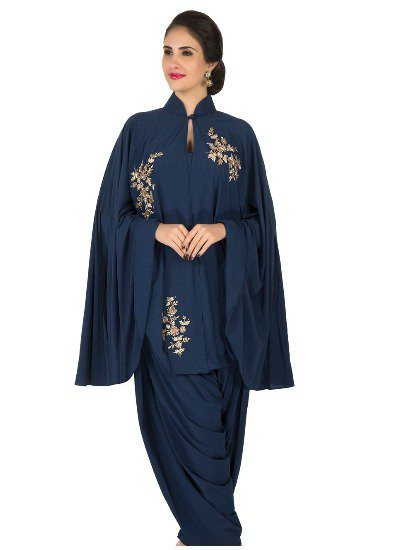 navy-blue-fancy-patiala-suit-zardo marathi