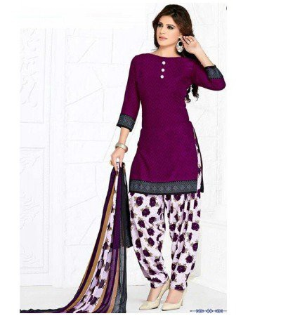 patiala-cotton-printted-punjabi-suit marathi