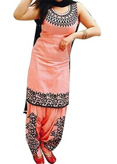 peach-black-punjabi-suit marathi