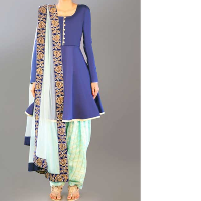 royal-blue-punjabi-suit 7206788 marathi