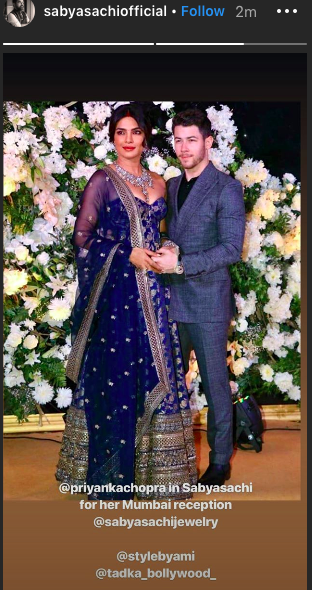 Priyanka-chopra-Nick-jonas-wedding-sabyasachi