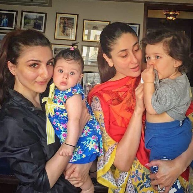 5-taimur-second-birthday-taimur-playdate-with-inaaya