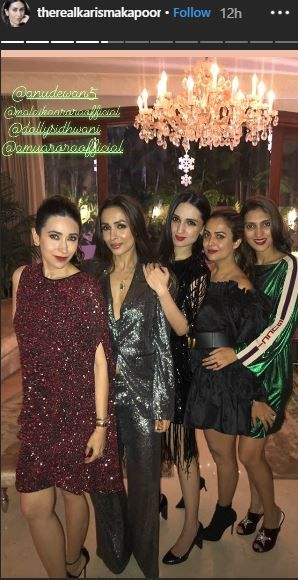 Bollywood Christmas- Karisma and squad