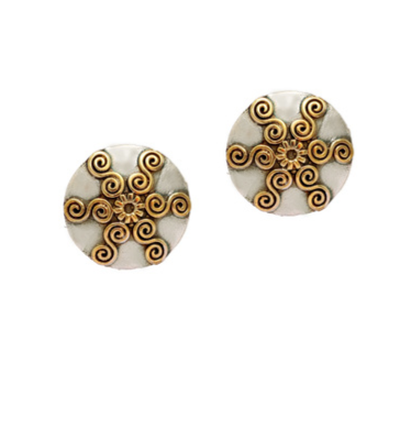 20-jewellery-design-OXIDISED-TWO-TONE-GOLD-SILVER-PLATED-MULTICOLOR-EARRINGS