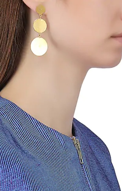 3-jewellery-design-GOLD-PLATED-TEXTURED-ROUND-EARRINGS