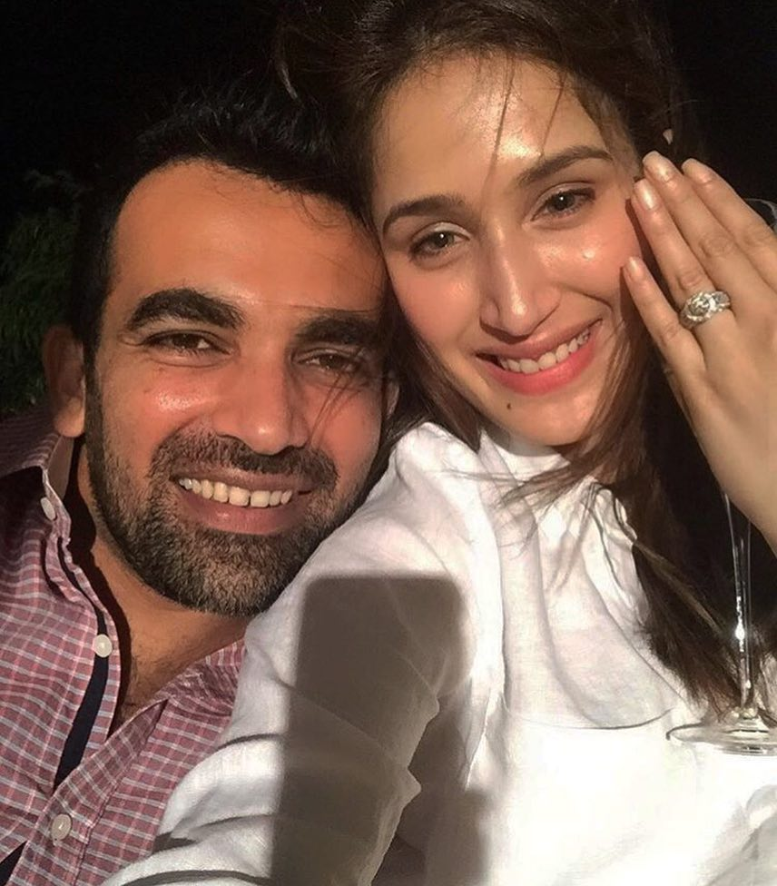 Sagarika Ghatge Has A Super Strong Selfie Game- Engagement ring