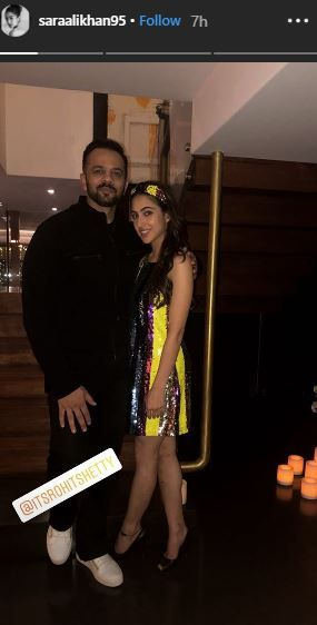 Simmba Success Party- Sara And Rohit Shetty